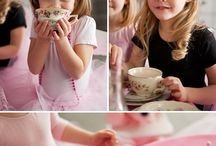Kaylee's tea party