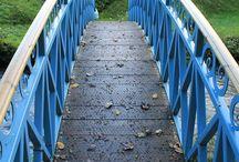 Bespoke blacksmith made bridge