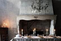 fireplace / #interior #design #style
