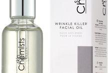 Killer Wrinkle Face Oils/Products