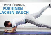 Flacher Bauch