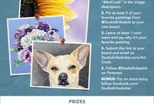 Studio Eriksdotter #ArtCrush Pinterest Contest / #ArtCrush / by Carol