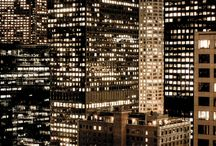 city lightss;* / by Alison Wolfe