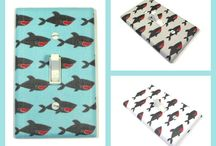 Under the Sea Nursery Decor Ideas - Boy / Girl Bedroom / Decor ideas for an Under the Sea bedroom or nursery for boys or girls.