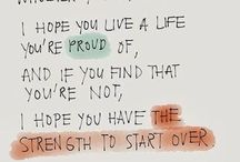 The Love Quotes Celebrity Quotes : I hope you have the strength to start over – Celebrity Quotes…