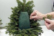 Kerstboom om zelf te maken