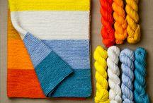 Knitting, Crocheting...loving yarn!