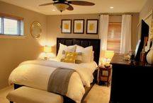 Master bedroom / My room- grey and yellow