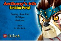 Legends of Chima Party Ideas