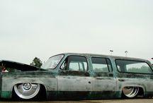 patina car