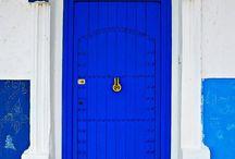 * the door *