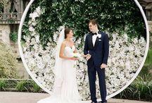 wedding wall deco