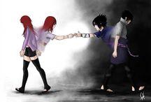 Sasuke y Karin