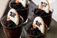 Halloween  / Leuke traktatie en versier ideeen voor halloween