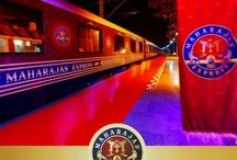 "Luxury On Wheels / #Winner of the ""World's Leading Luxury Train"" #award two times in row in 2012 and 2013 at World Travel Award, Maharajas' Express is truly an experience unto itself!!  ""World Travel Award"" is one of the most prestigious award that serves to acknowledge, reward and celebrate excellence across all sectors of the global travel and tourism industry."