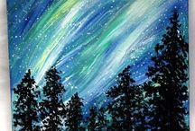 Kaitlyn's canvas art / by Deborah Wood