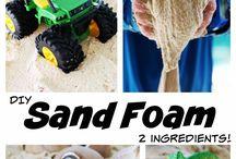 Sand foam