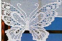 cortinas en crochet