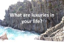 Luxuries / #whatareyourluxuries Mine 1 having enough time 2 reading books for fun 3 exercising 4 not rushed or behing behind and so many more