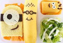 Comidas divertidas para criancas