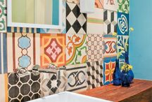 Patchwork tile azulejos