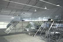 Showroom for Aluprof Company