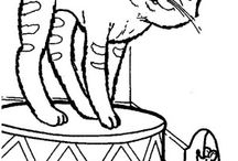 Cats coloring book / Cats coloring pages