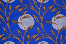 West African fabric designs