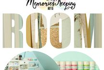 Organized / Craft room