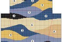Vzory plochy,třásnové