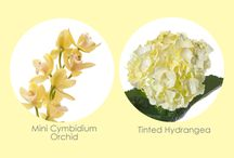 Yellow wedding flower ideas