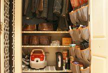 organized closets / by Gwen Jones