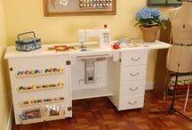 mesa para mequina de coser