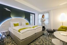 ARCOTEL Donauzentrum Vienna / On 01 August 2017, ARCOTEL Donauzentrum Vienna will finally open its doors to the public. Come discover our comfortable rooms, cool seminar facilities, chill-out area and lots more. For shopaholics, we're a dream come true: the hotel is attached to Donau Zentrum, Vienna's largest shopping and entertainment centre. So shop 'til you drop and stay with us!