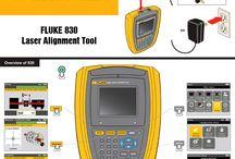 FLUKE Instruments / FLUKE instrumente de masura: multimetru digital, termoviziune, termografie, analizoare de calitate a energiei.