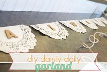 Organizing Events / Collecting the idea to make a DIY project for an event (bridal or baby shower).