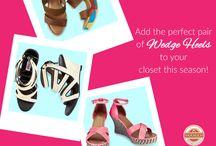 Women's Wedges!