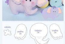 molde de elefantitos