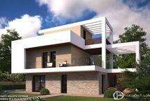 Villa Renders, Italy / 3D Photo Realistic Exterior Visualization of Villas, Iatly