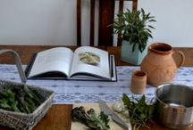 My handwoven table linen / These are some photos that I took as part of my spring photo shoot featuring my handwoven 'Dukagang' range of linen and cotton table linen.