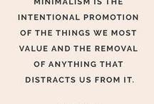 Minimalism and slow living