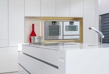 Corian Mineralwerkstoff in der Küche