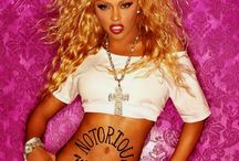 Lil Kim used to be cute n I loved her