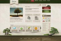 Web Design Inspiration / by Kimberly Smith