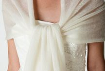 Châle mariée