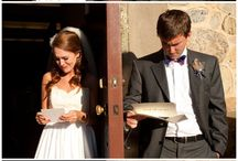 Wedding Day Love Letters / Love letters written by a bride and groom and swapped on the wedding day prior to the ceremony and before seeing each other can be so memorable capturing their hopes and dreams for their wedding day and marriage together.