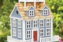 Bird House Ideas / by Linda Darlington-Bath