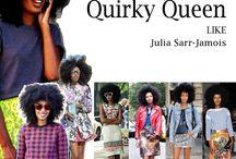 Quirky queen