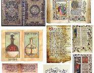 Miniatyrböcker/tidningar