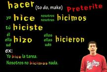 Spanish Hacer Preterite / Spanish hacer in preterite